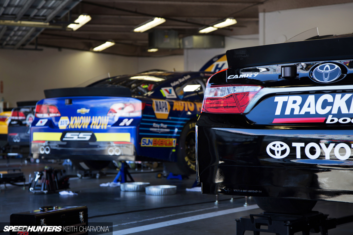 Daytona Prep: Snooping Around A NASCAR Garage