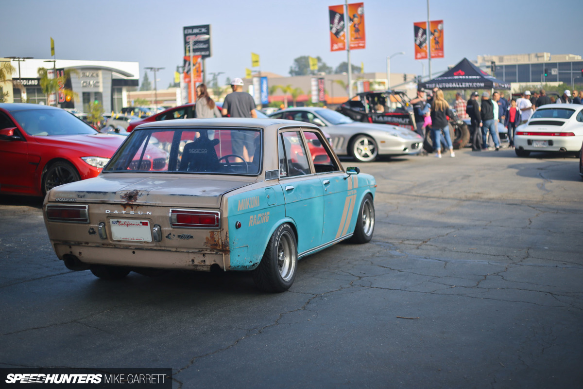 The Turbo Datsun Rustbucket