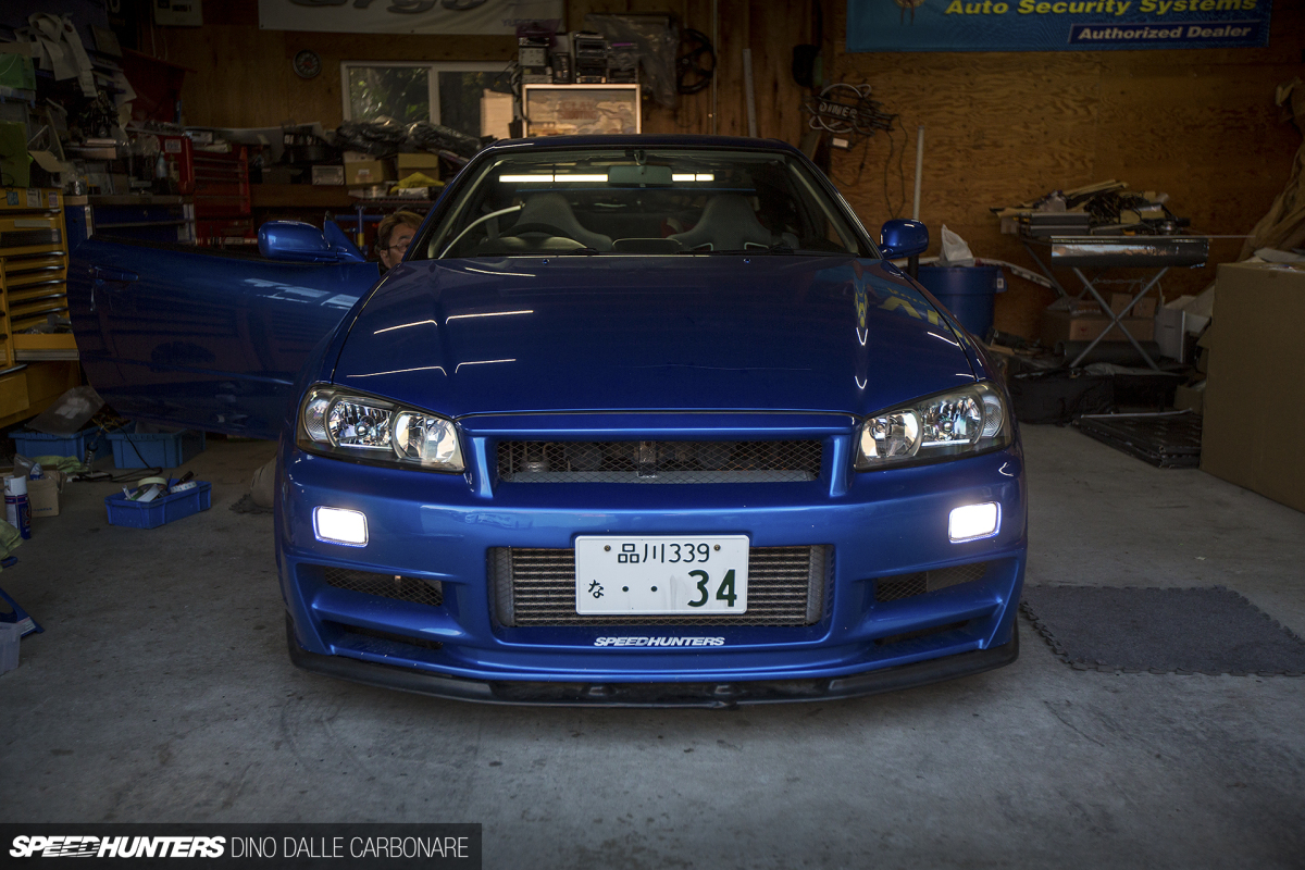 Project Gt R Gets An Led Upgrade Speedhunters Running Lights Electronics Vleds Gtr 24