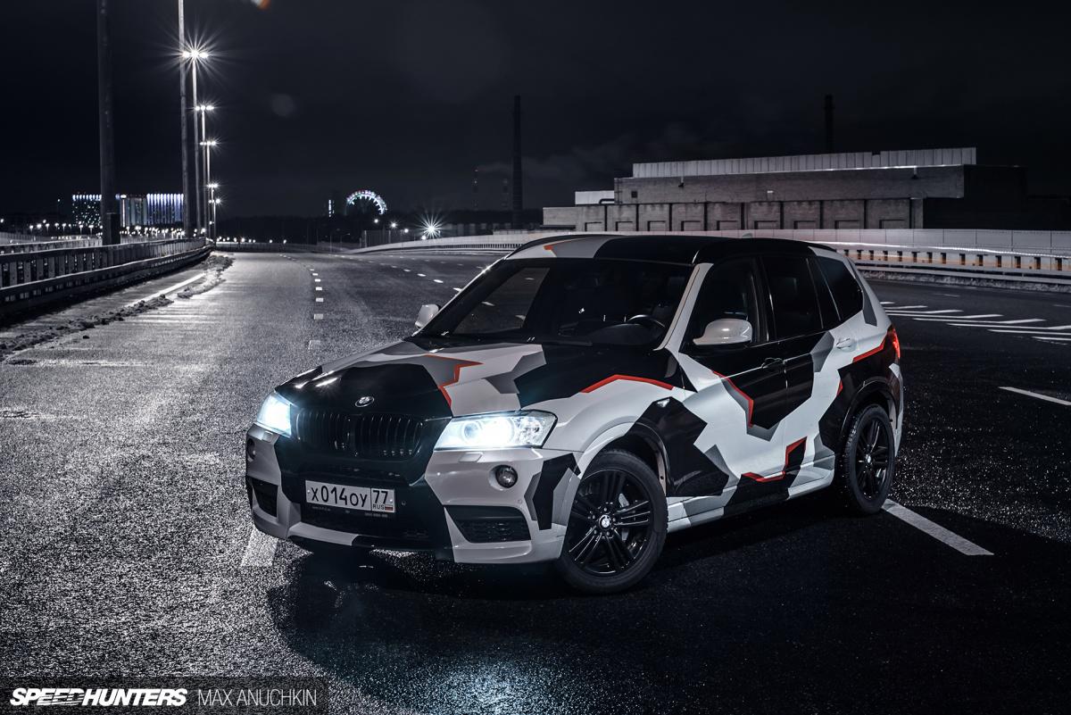 A BMW X3 With Triple Turbo Twist