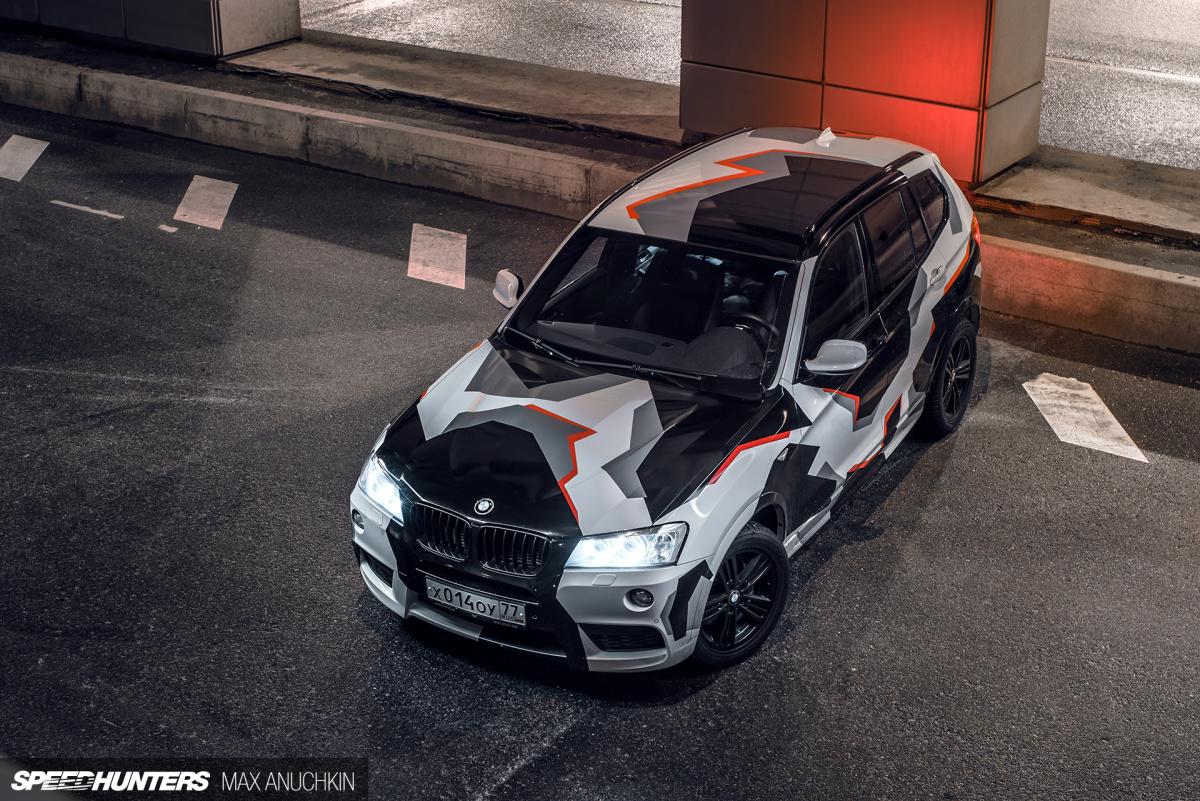 A BMW X With A TripleTurbo Twist Speedhunters - Personalised car bmw x3 decals