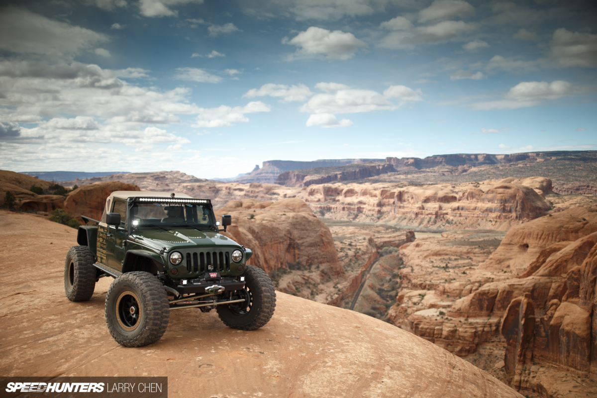All Terrain Muscle: Corvette Power In A Jeep