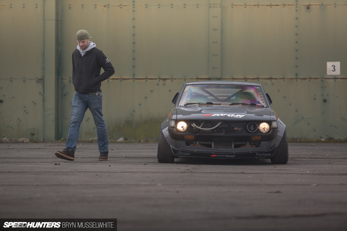 Dark Horse Rising: The World's Best Celica Drift Car