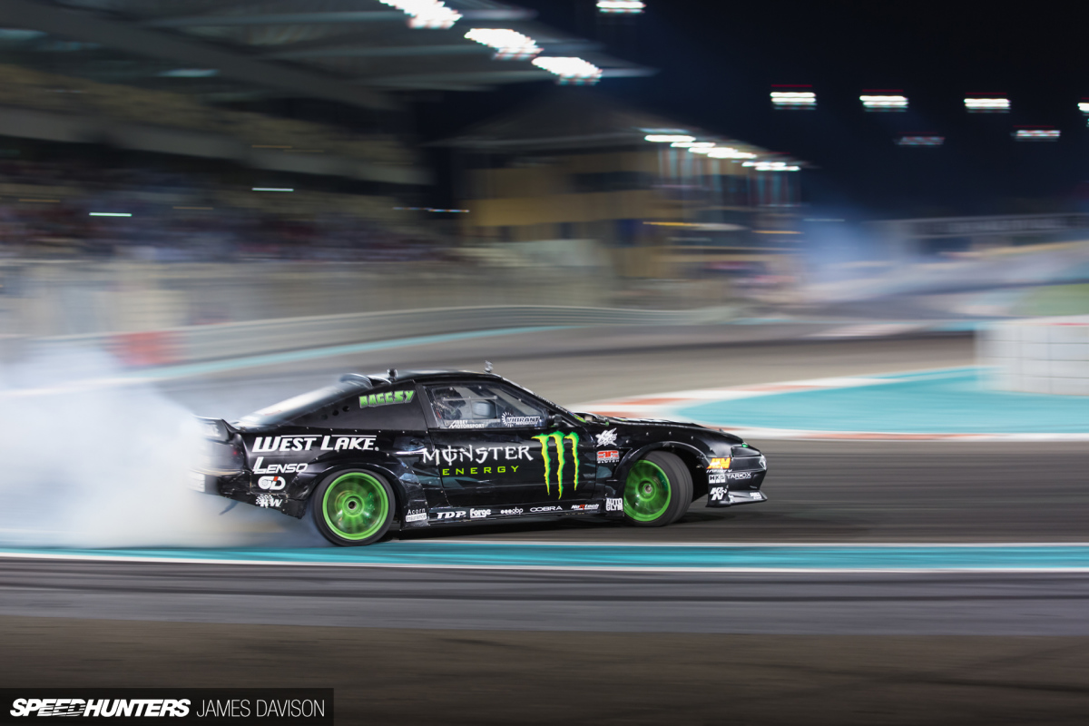 Abu Dhabi Drift: Allstars In The MiddleEast