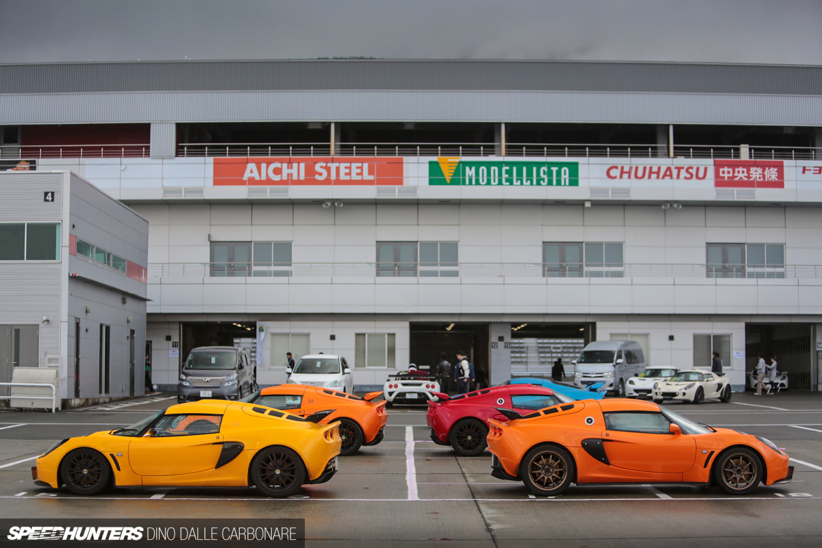 From Japan With Love: Lotus Hits Fuji