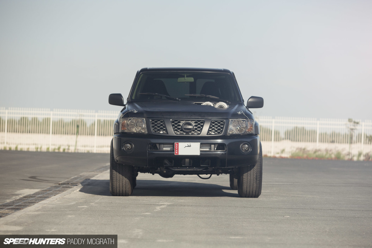 1 400hp At The Wheels Not Your Typical Nissan Patrol