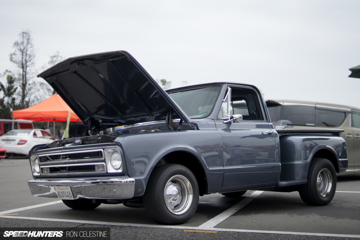 An American Pickup Truck In Japan Speedhunters Big Blue Jacked Up Chevy