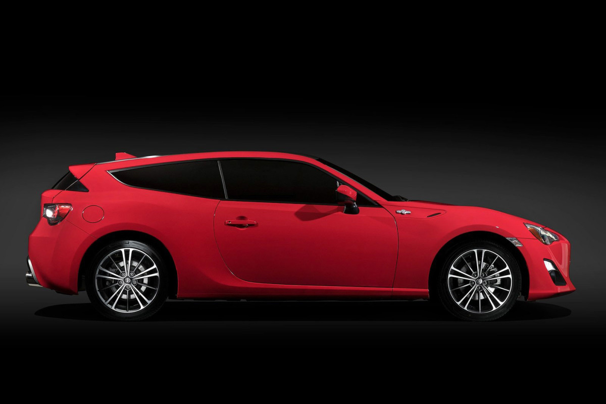 Two-Door Wagon: The Toyota 86 Shooting Brake Concept
