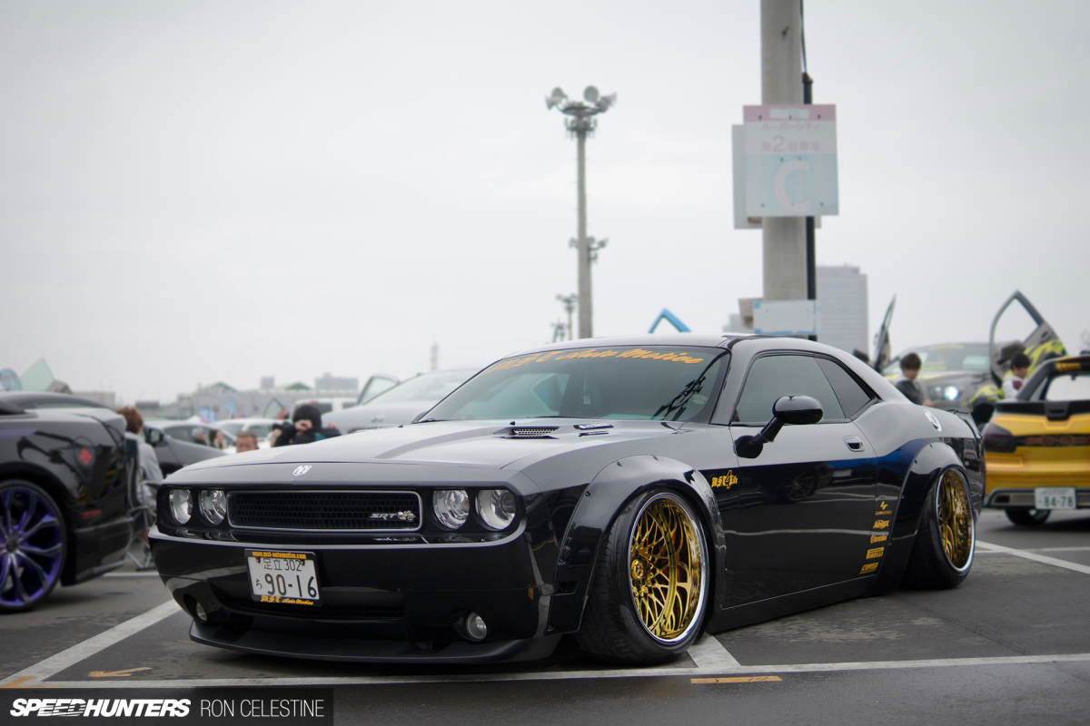 East Meets West A Liberty Walk Srt8 Challenger Speedhunters