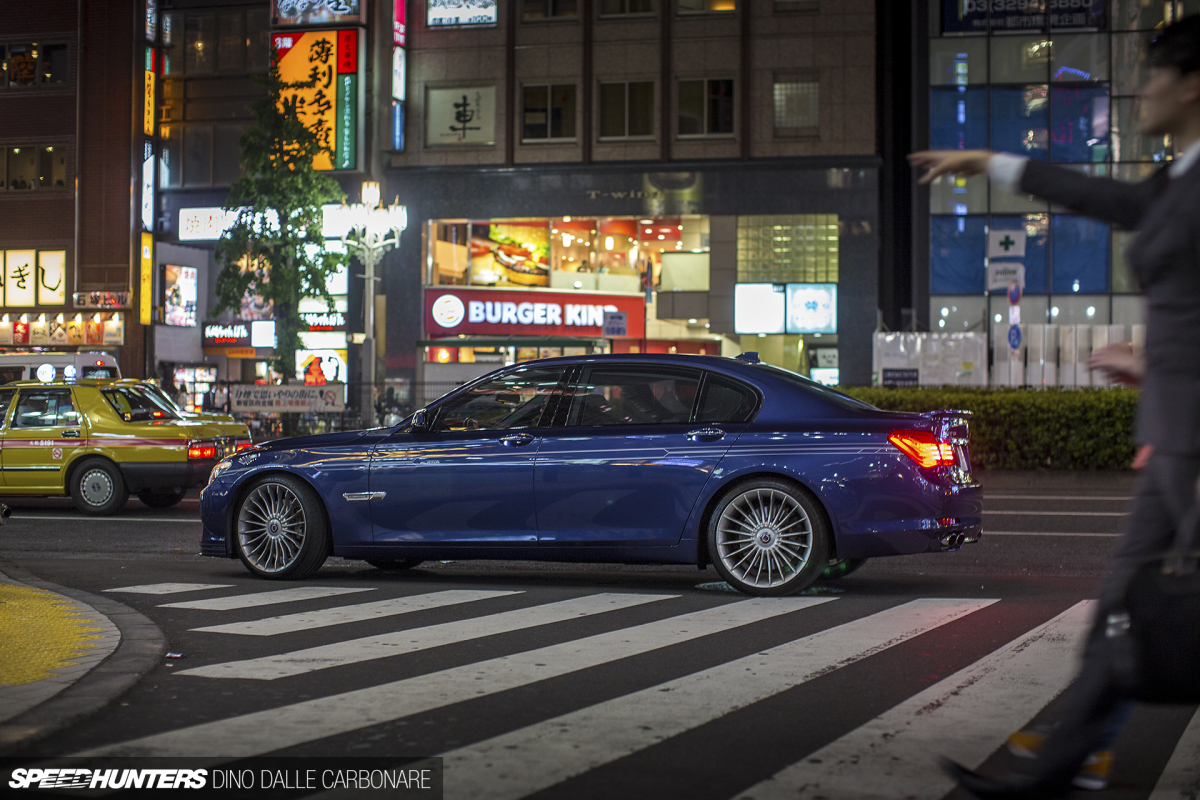 Random Snap: An Alpina B7 Bi-Turbo In Shinjuku