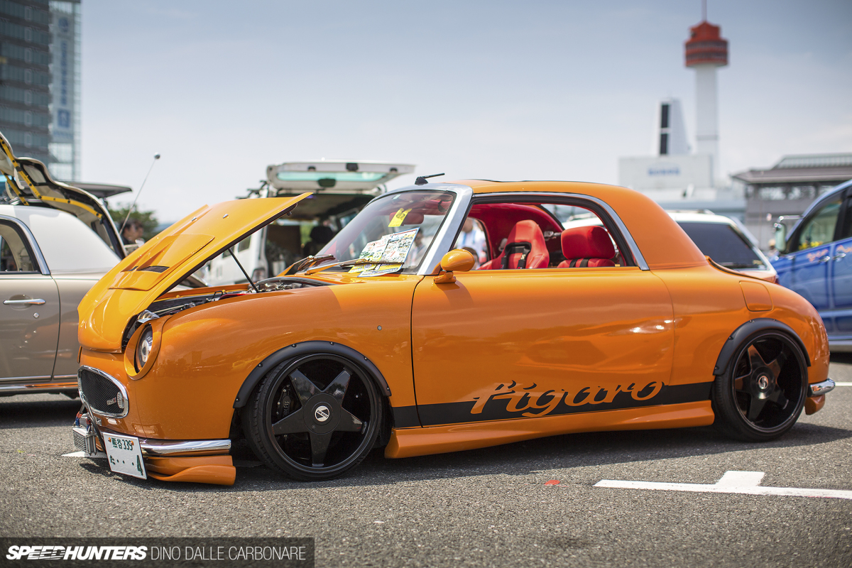 A Nissan Figaro That Wants To Be Different on car kitchen