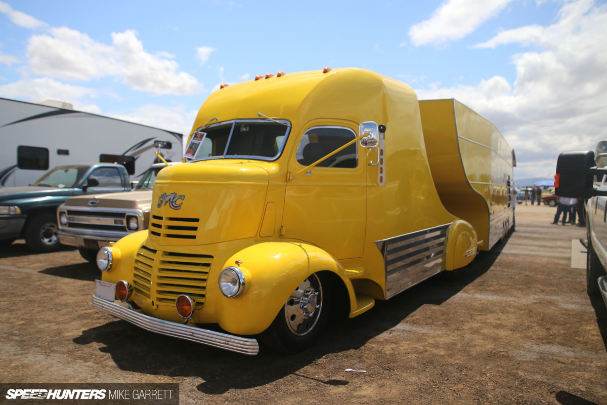 Race Car Hauling, Streamliner Style
