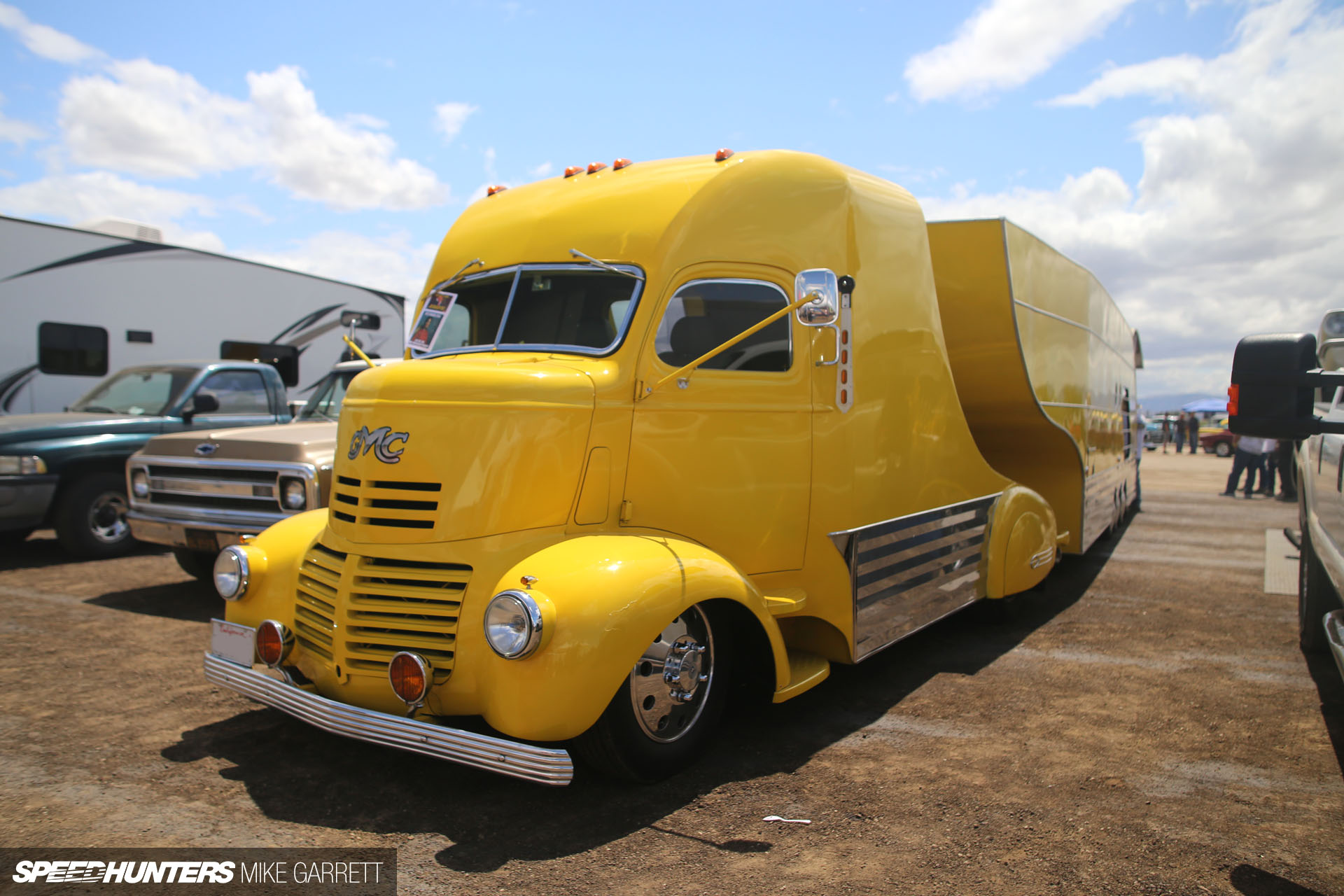 Race Car Hauling Streamliner Style Speedhunters