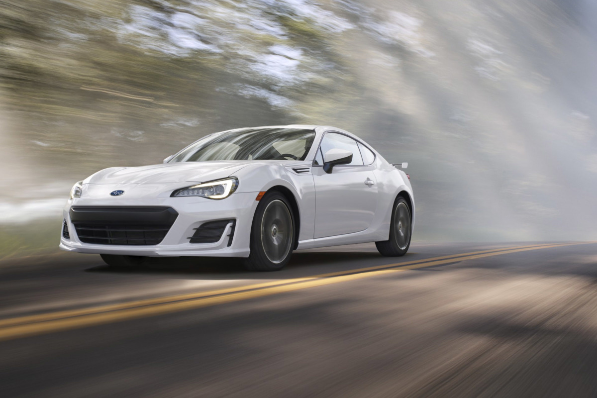The 2017 BRZ Gets Some Updates (& More Power)