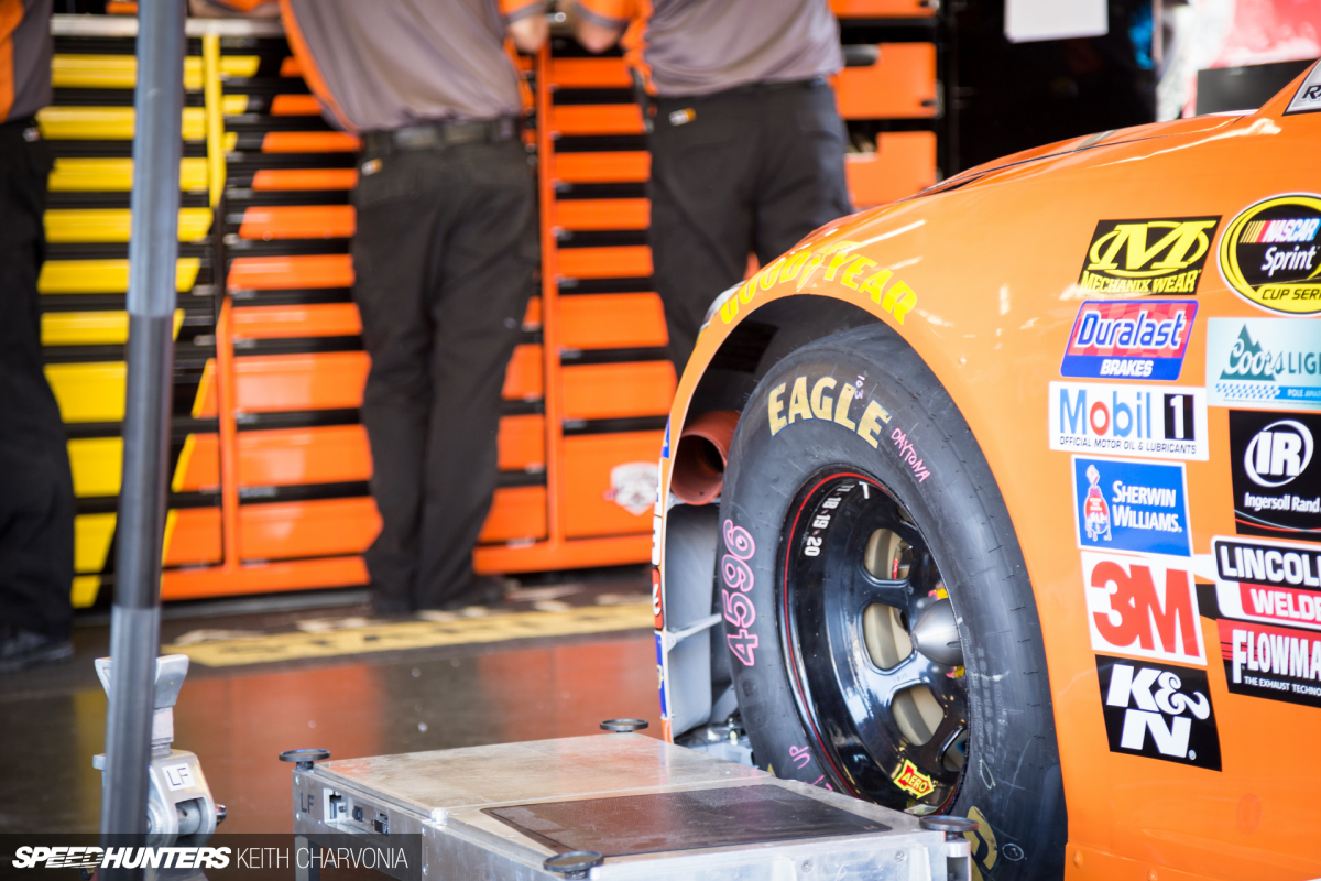 Want To See Inside A NASCAR Toolbox?