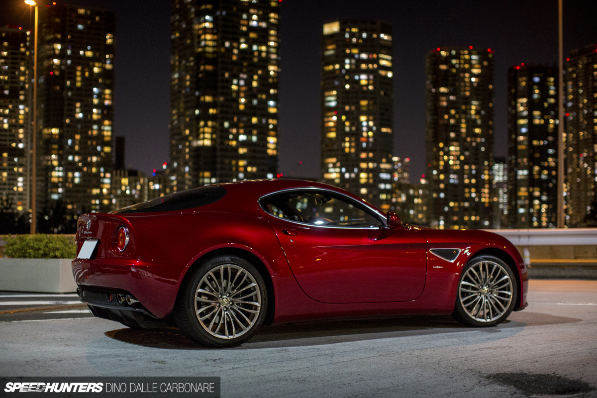tokyo nights an alfa romeo 8c at tatsumi speedhunters. Black Bedroom Furniture Sets. Home Design Ideas