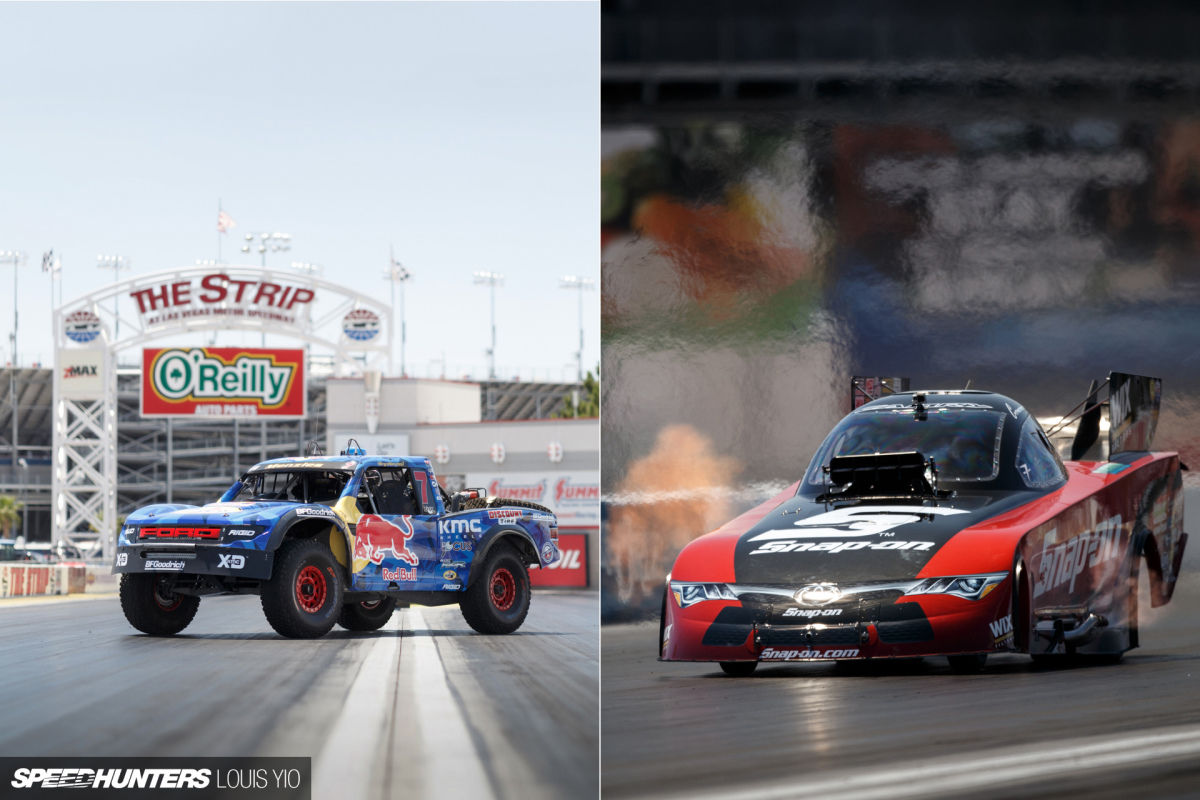 Trophy Truck Vs Drag Car