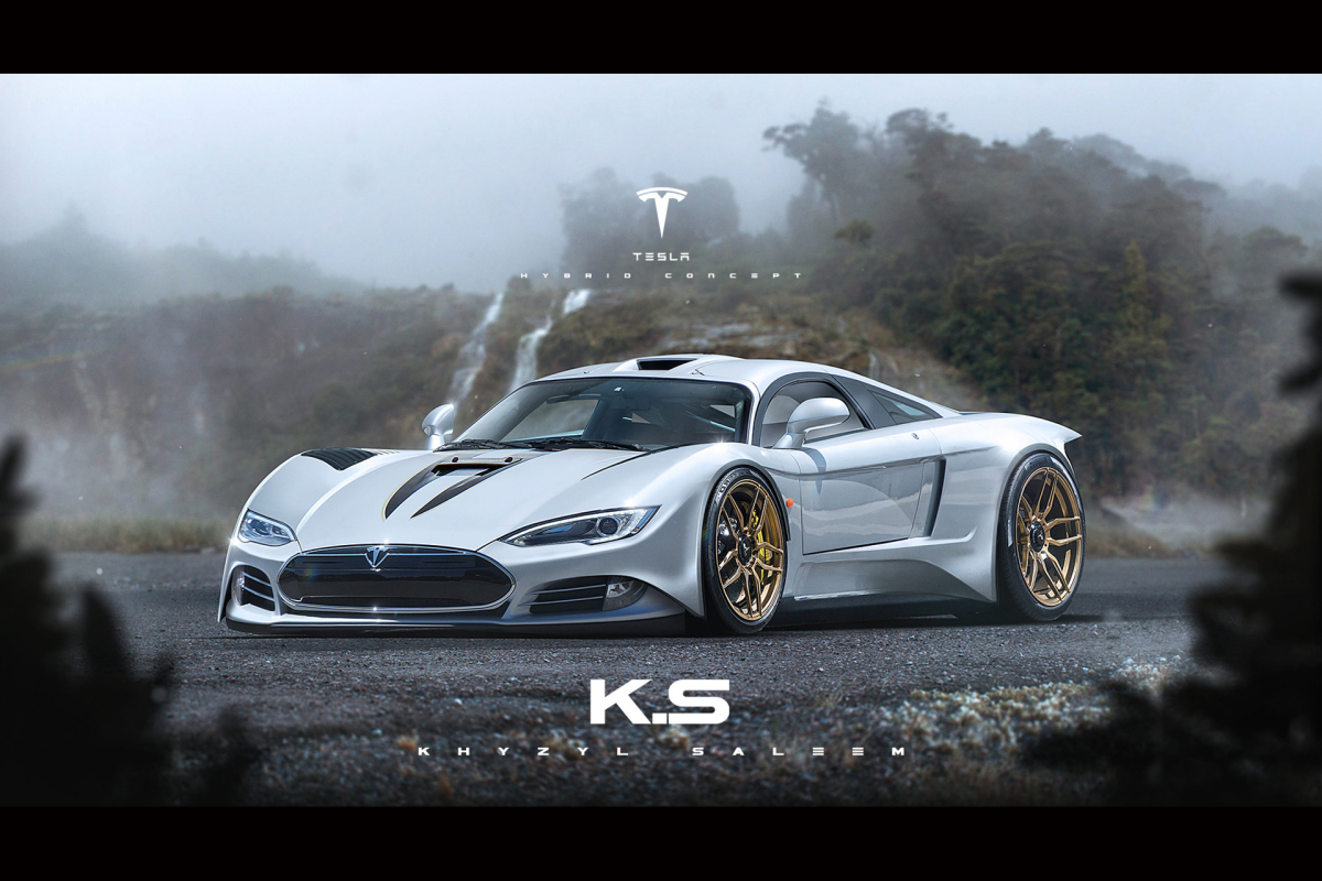 What If Tesla Built A Supercar…