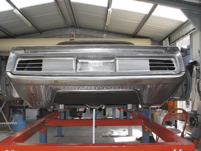 rear pan