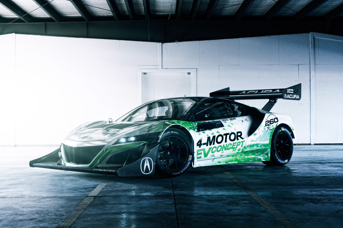 An All-Electric NSX For Pikes Peak