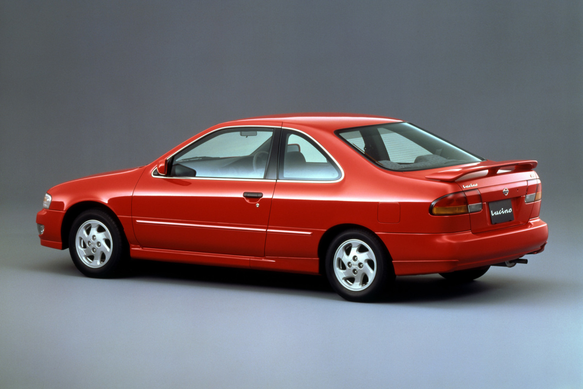 Even through the 90s there were interesting versions of the sunny like the lucino coupe a japanese version of the us market 200sx