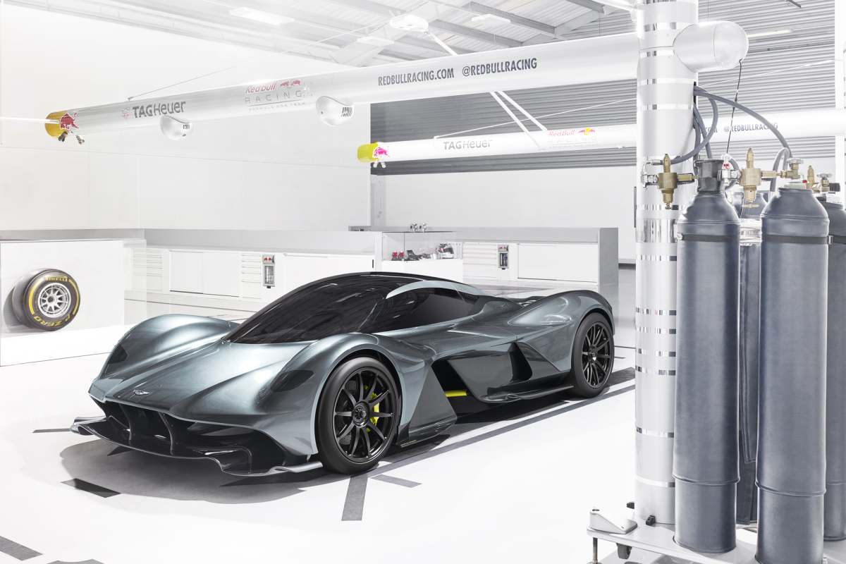 Aston Martin & Red Bull Racing Join The Hypercar Game