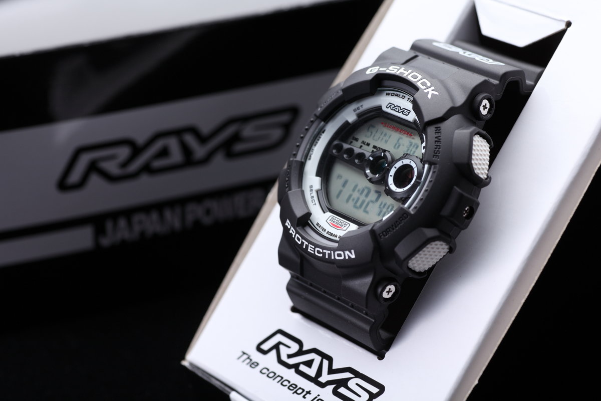 Win A Limited Edition RAYS Casio G-Shock