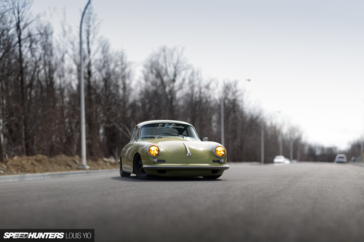 Quick 'N Low: F&F Fabrication's Porsche 356