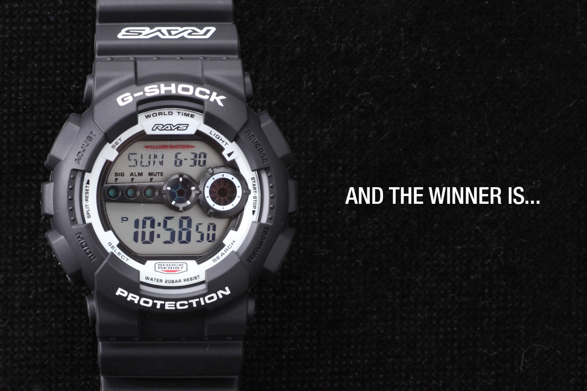 SH x RAYS: The G-Shock Giveaway