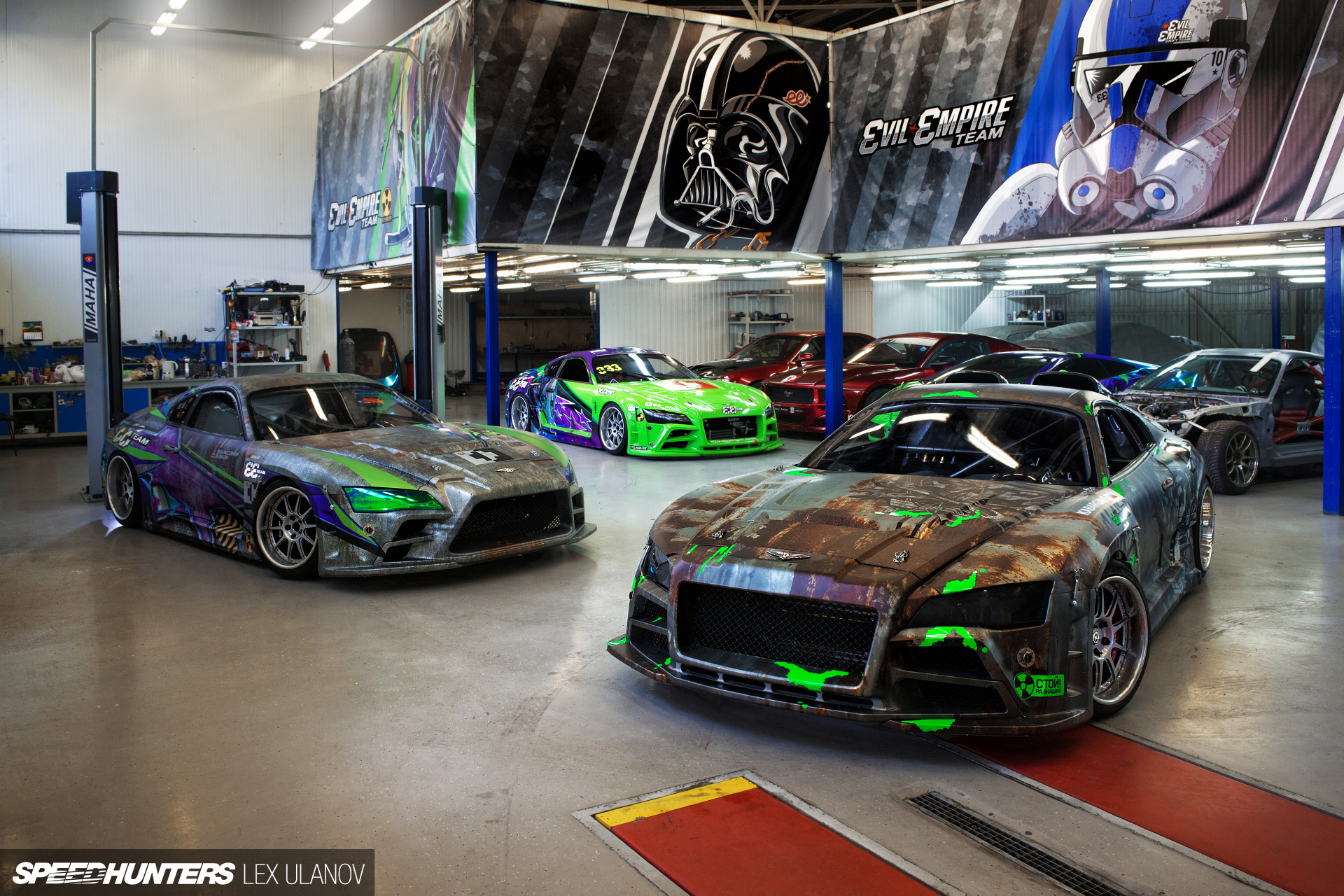 Toyota Supra 2016 >> A Peek Inside The Evil Empire - Speedhunters