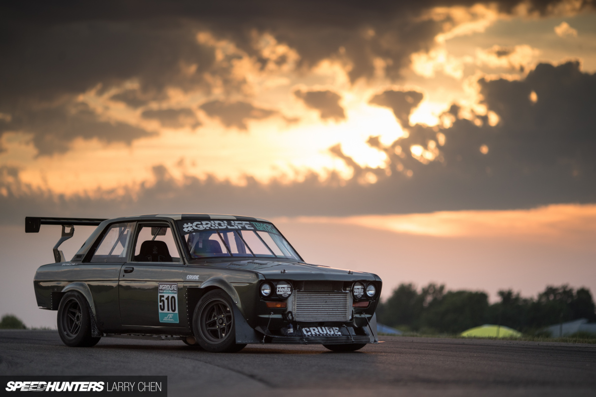 A Datsun Time Attacker With GM Ecotec Power