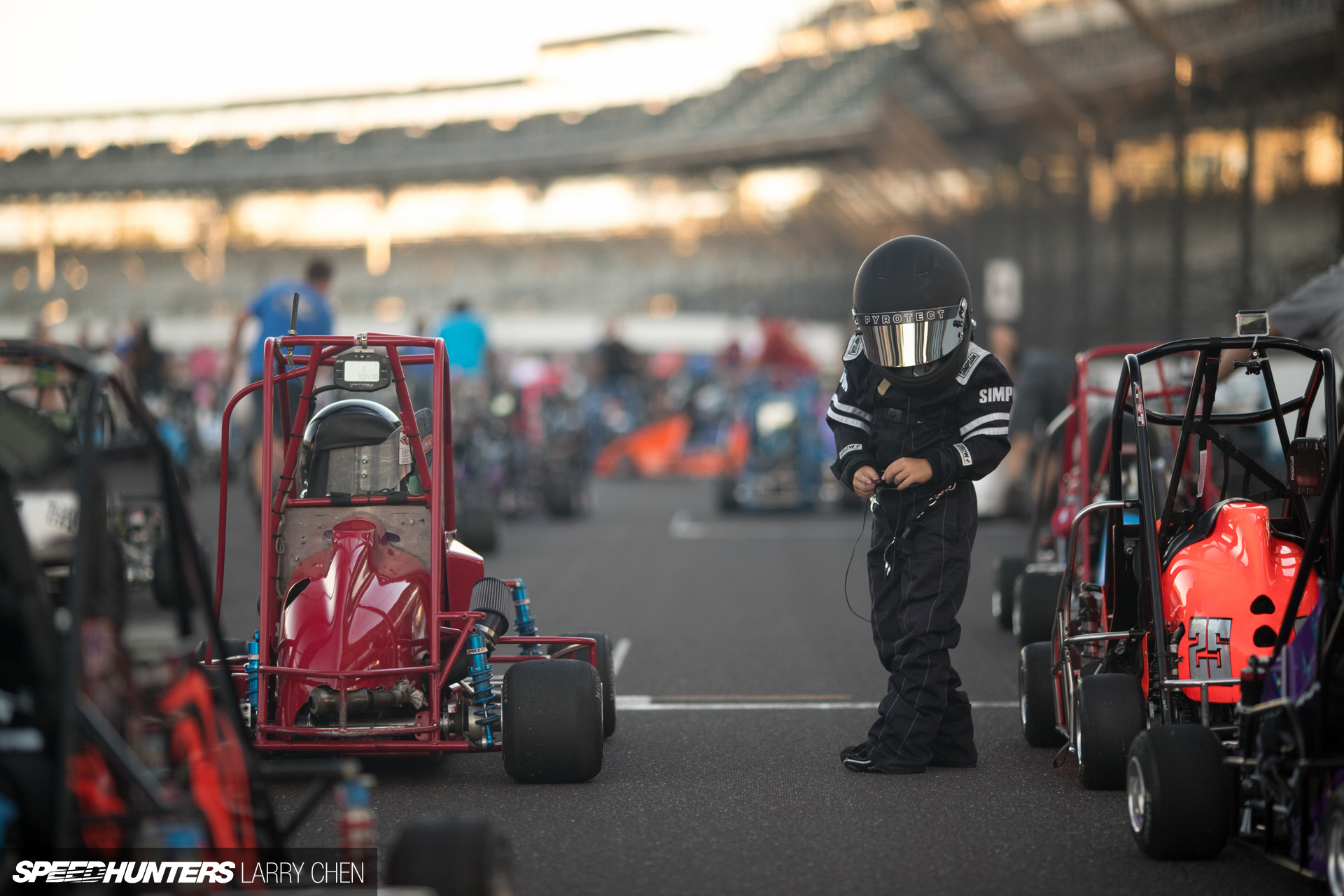 Japanese oval midget racing