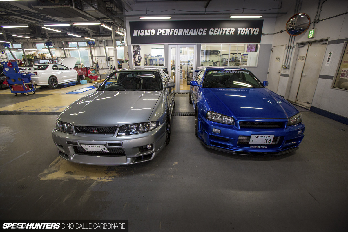 Inside Nissan Prince Tokyo MotorsportsFactory