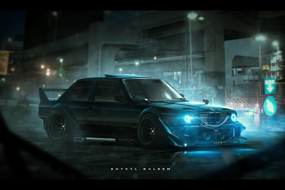 In Your Face Sci Fi Punk Works Style Speedhunters
