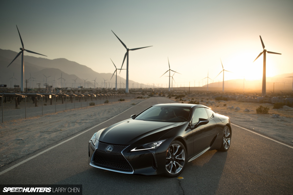 An Encounter With The Lexus LC500
