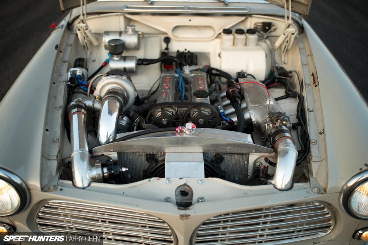 Larry Chen Speedhunters Gridlife Volvo X on Volvo 850 Engine Swap
