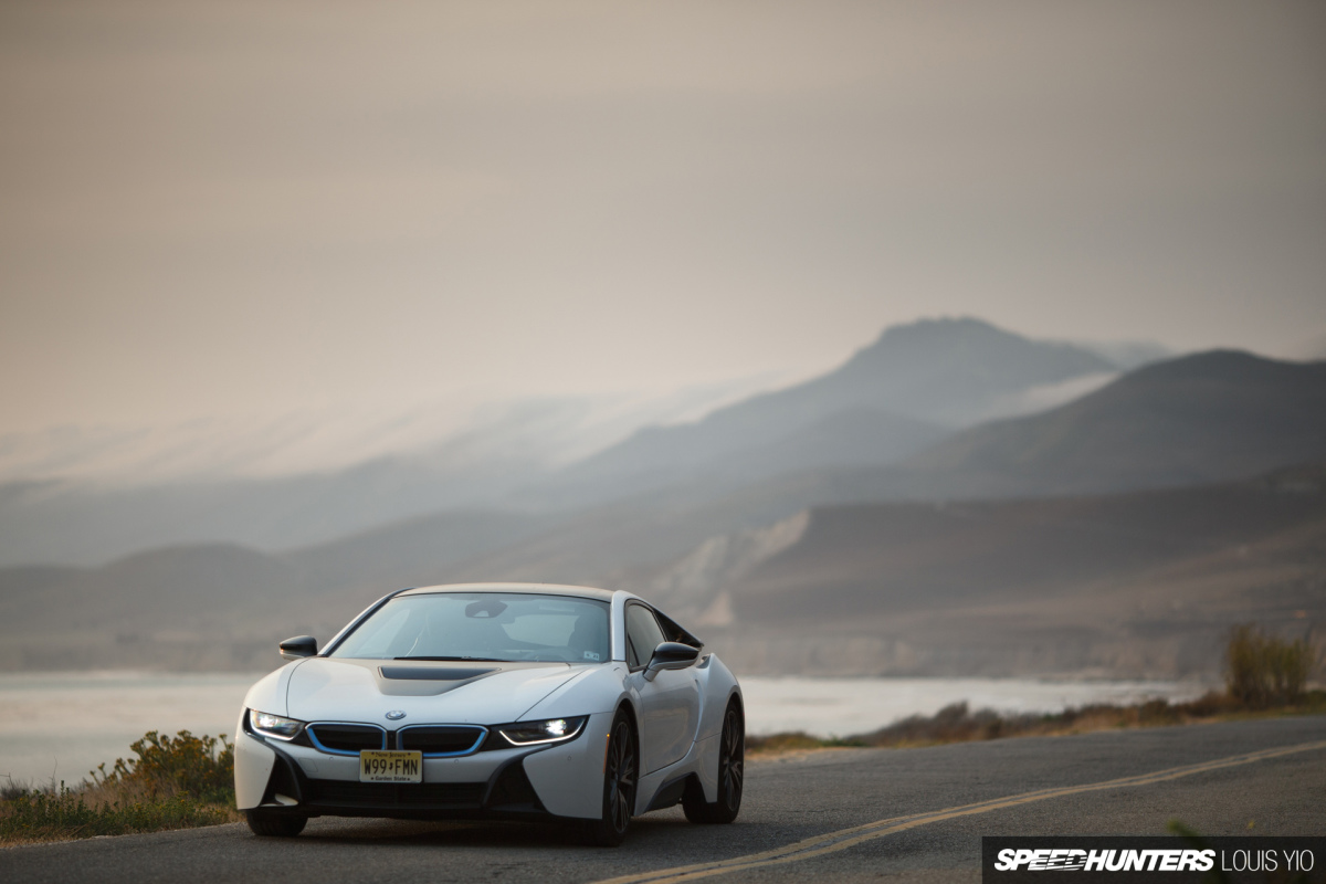 Going Back To The Future In A BMW i8