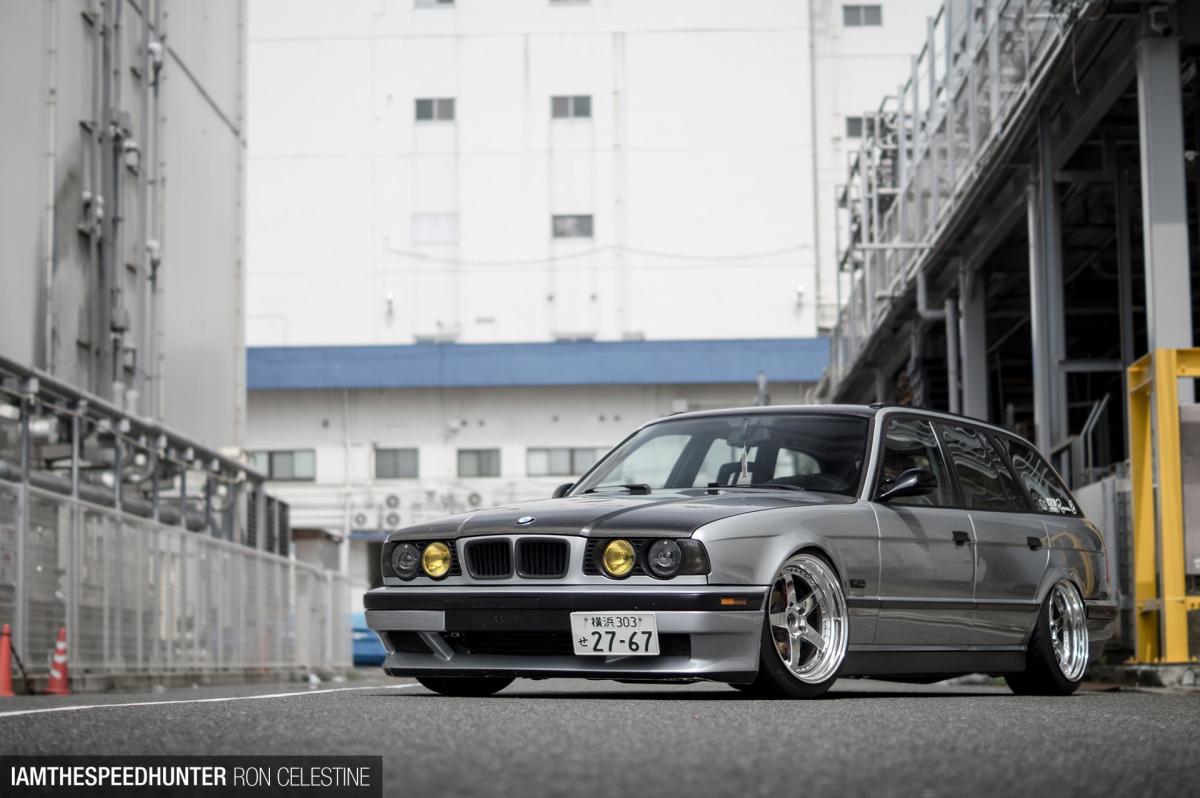 A BMW E34 Estate, The JapaneseWay