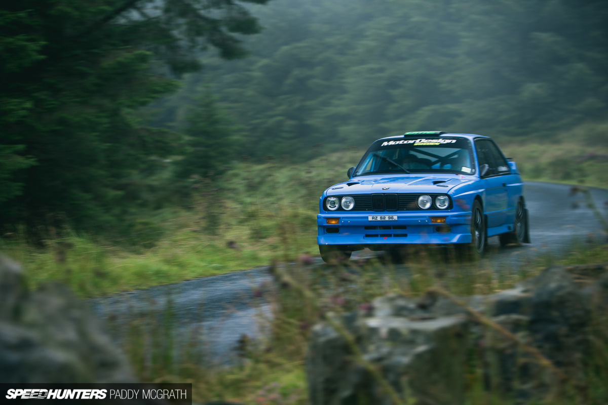 Improving A Legend: A Modern E30 M3 Rally Car