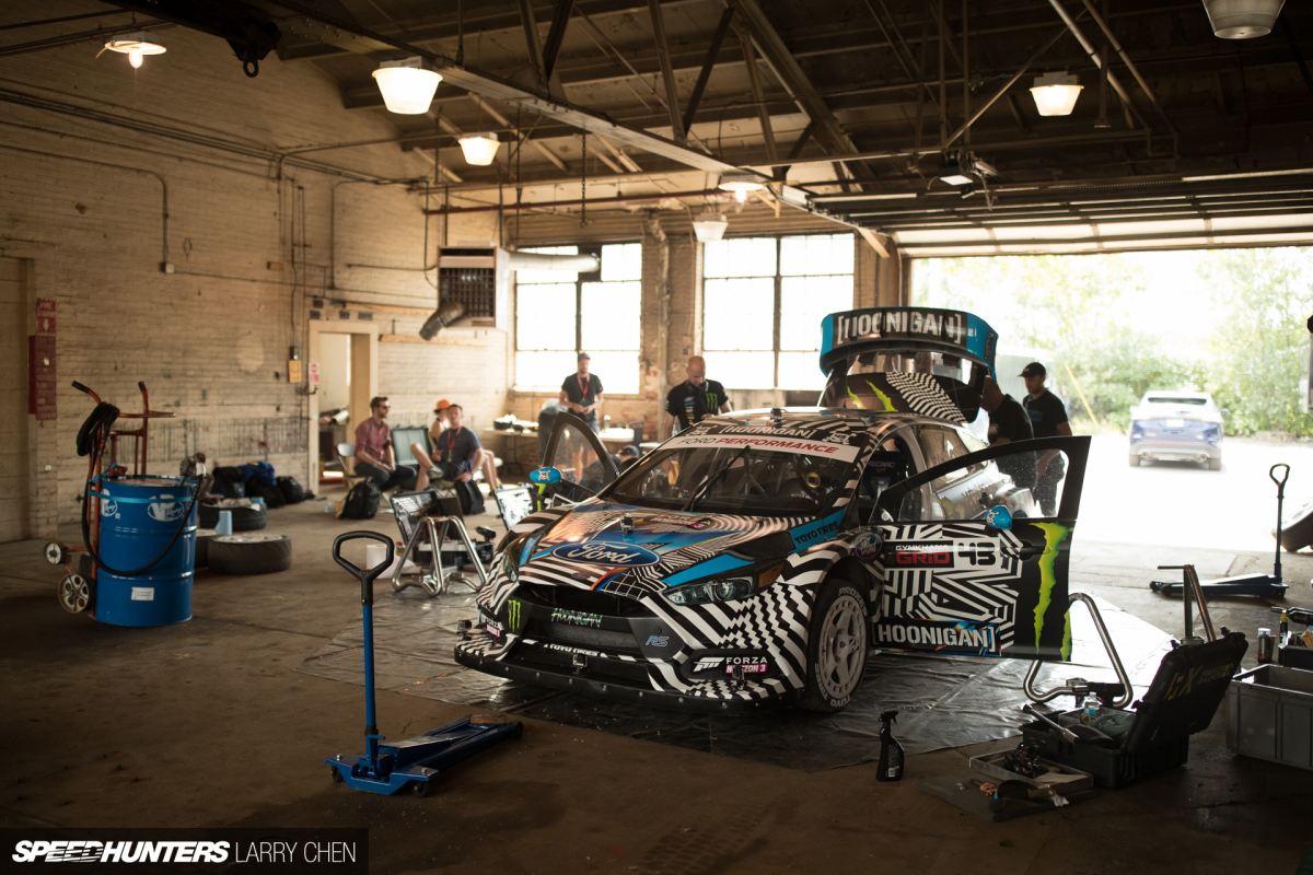Block K Chen the of gymkhana nine speedhunters