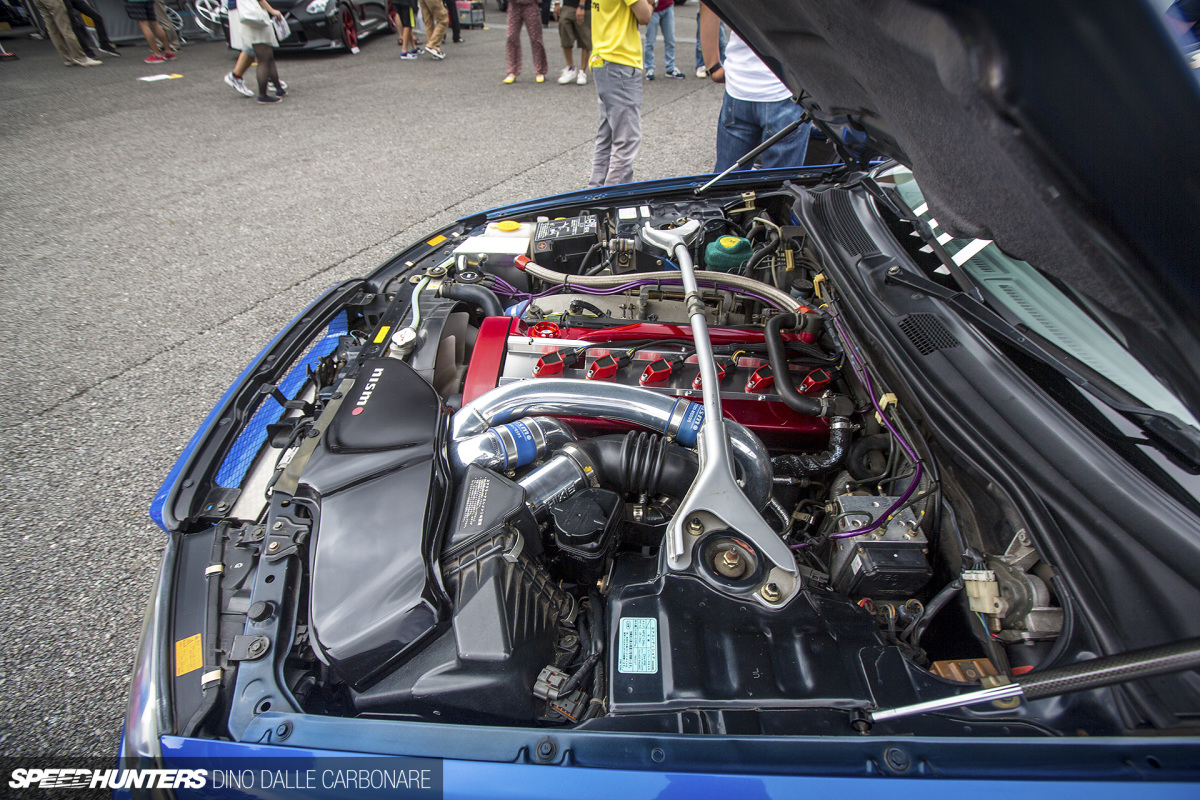 The RB26 Engine Bays Of R's Meeting