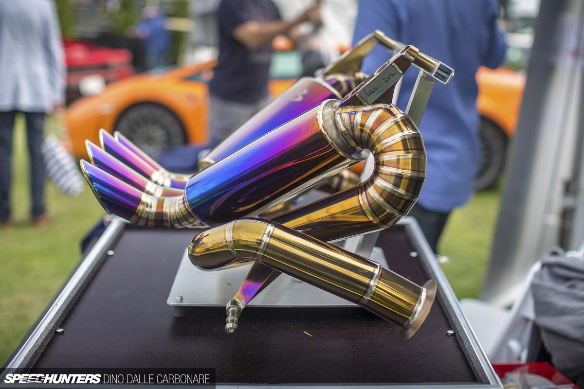 Valentino Balboni's Titanium ExhaustArt