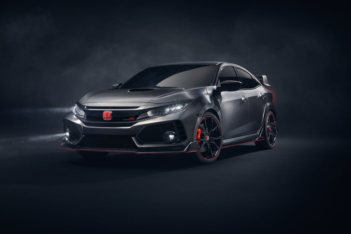 From Paris To SEMA: The Civic Type R Prototype