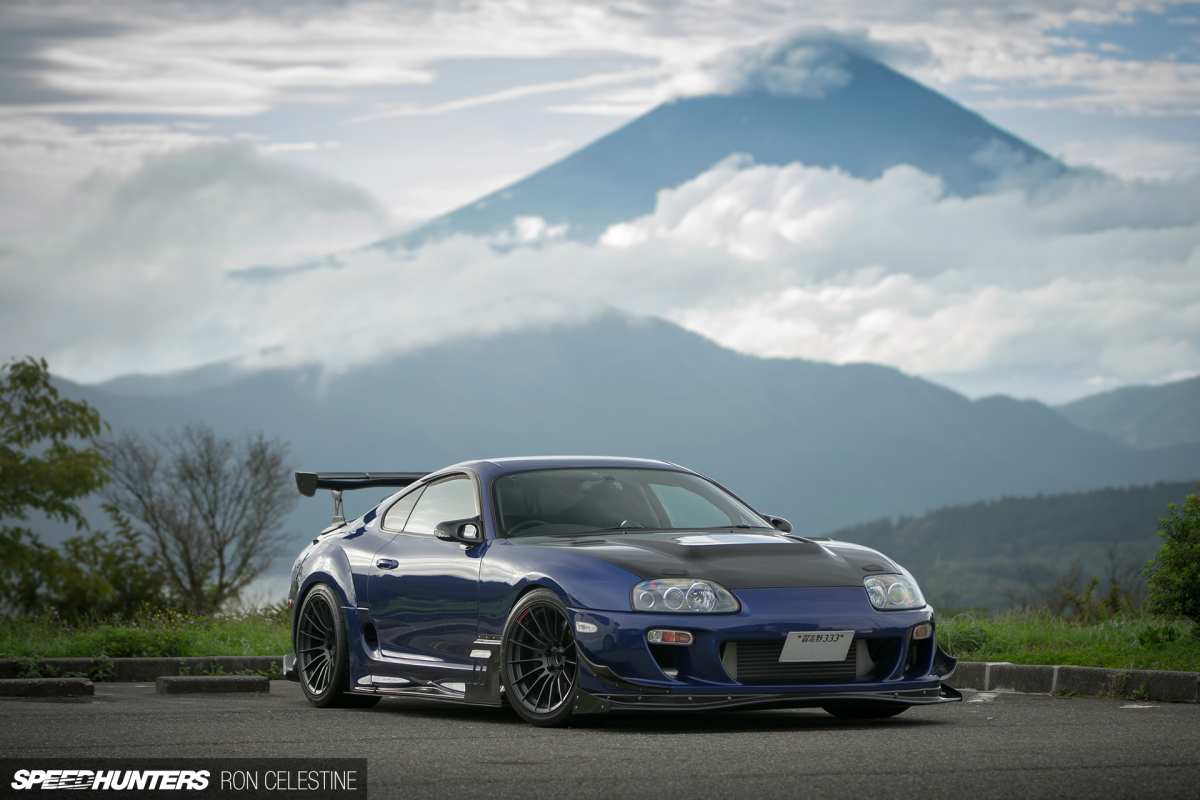 Hakone Turnpike With Four Supras & A Fairlady