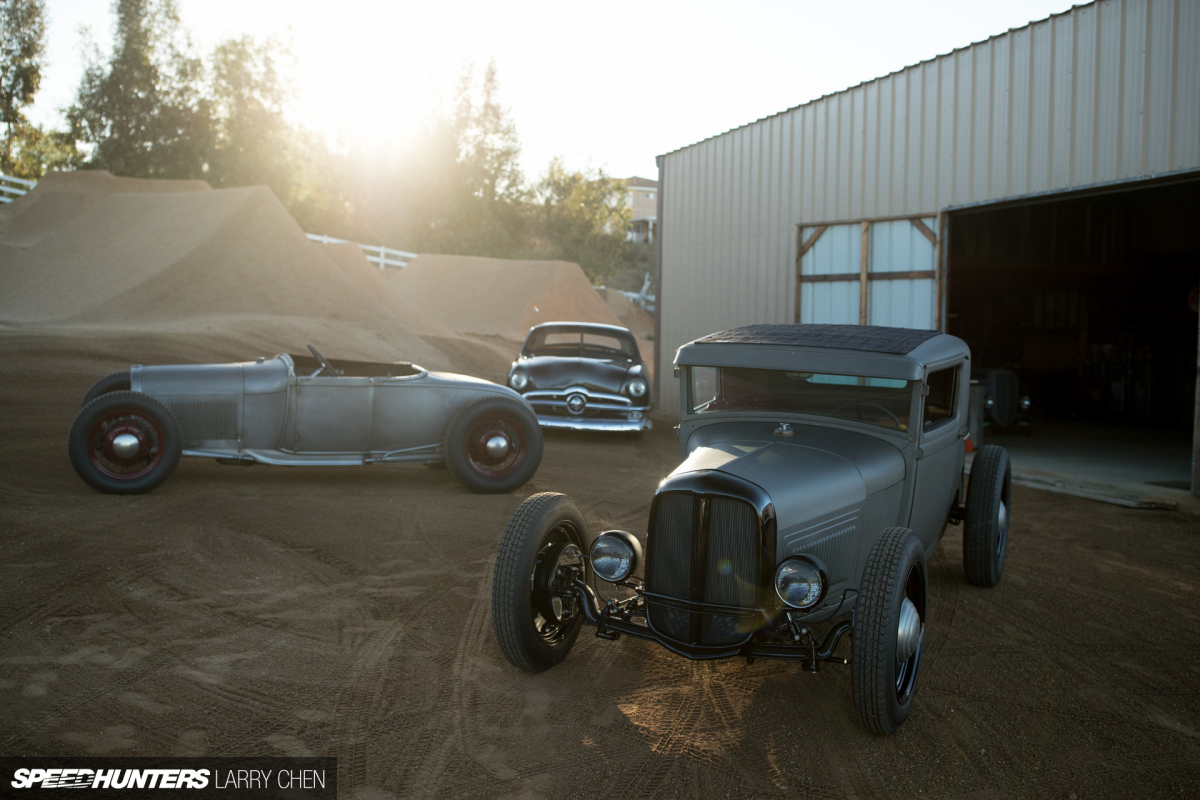 From BMX To Hot Rods: Heath Pinter's '28 Ford