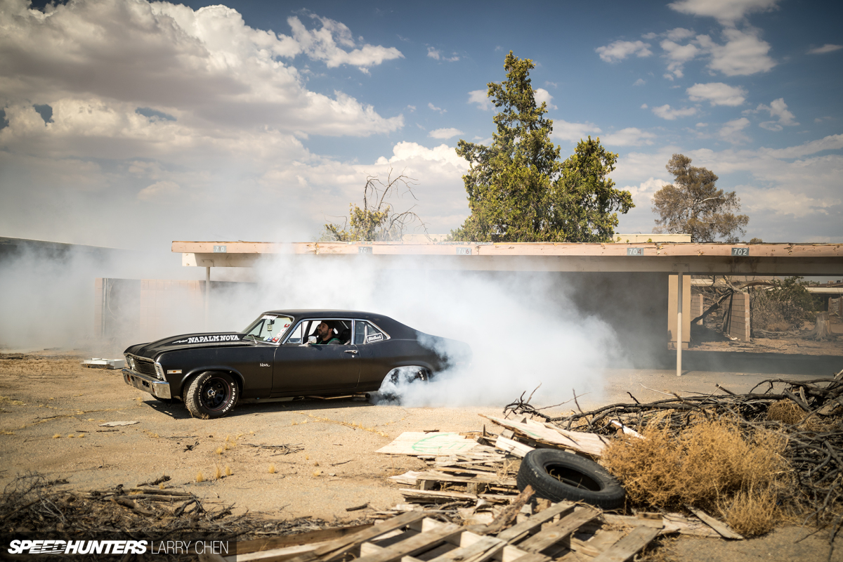 Napalm Nova: 10 Burnouts To The Gallon
