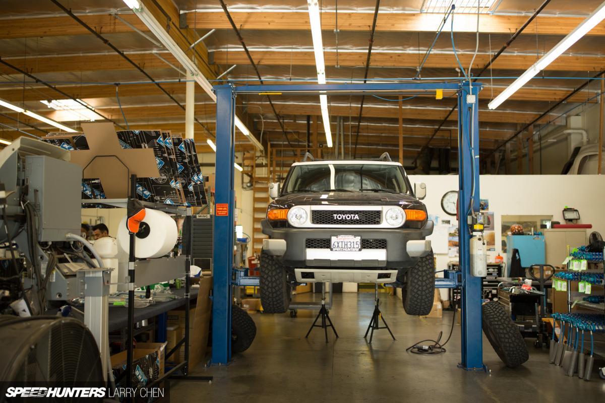 Project FJ Cruiser Gets Suspension - Speedhunters