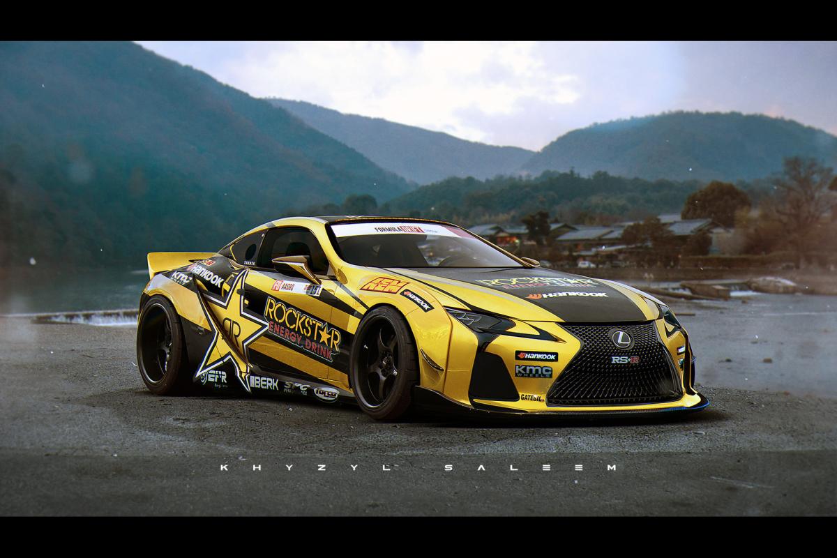 Khyzyl Saleem Lexus Lc500 Racecar Dreams Lexus Lc500 Forum