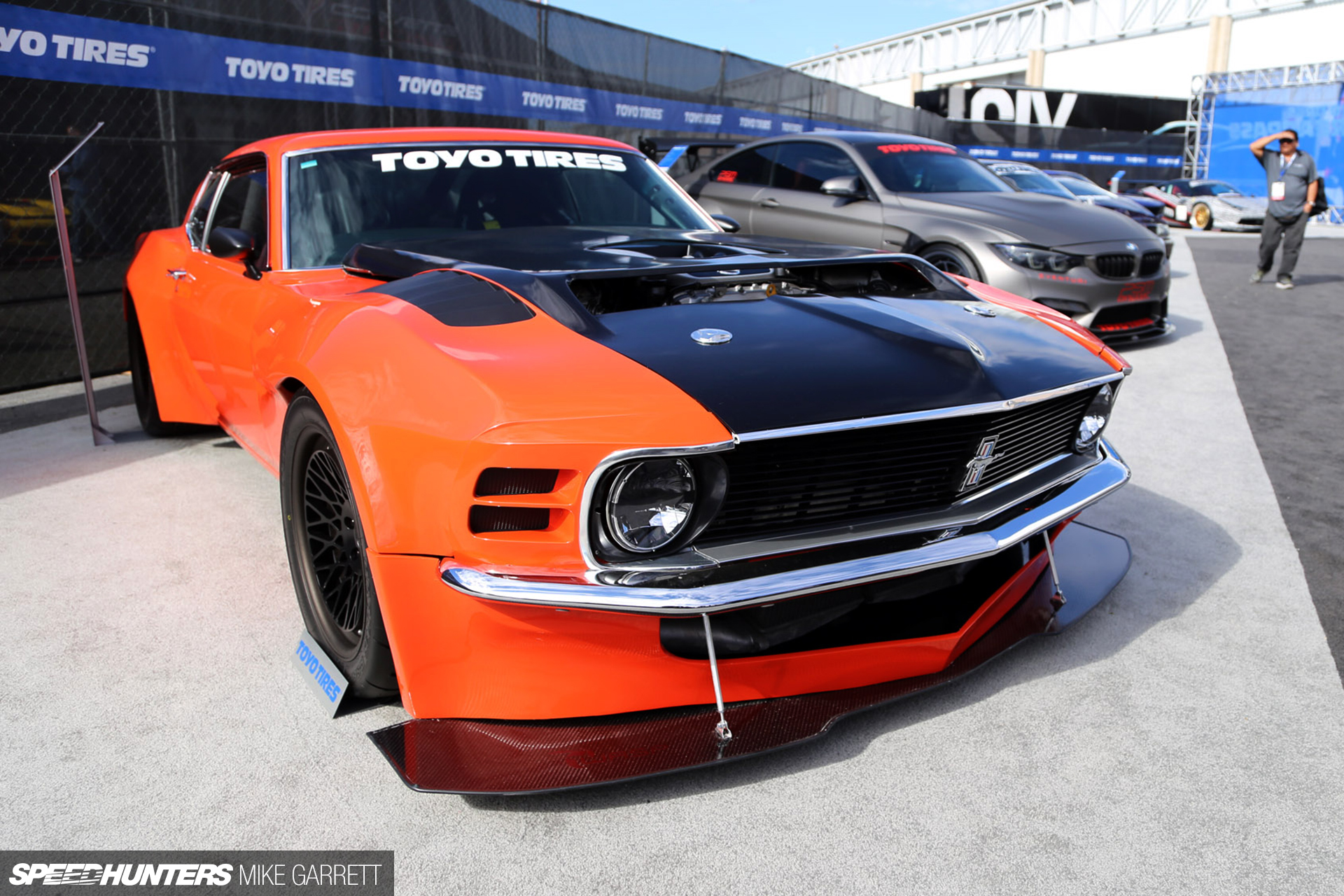 Ford Mustang Meets Nissan R35 GT-R - Speedhunters