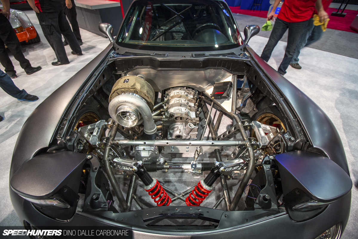 An AWD, Turbo, 4-Rotor RX-7. What?!